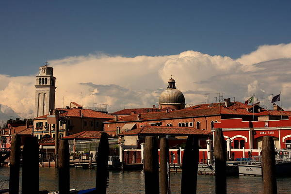 Venice Art Print featuring the photograph View Of San Pietro In Venice by Michael Henderson