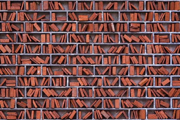 Align Art Print featuring the photograph Wall by Jan Rockar