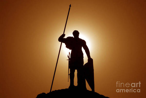 Warrior Art Print featuring the photograph Warrior by David Lee Thompson