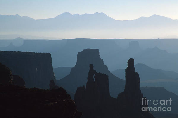 Utah Art Print featuring the photograph Washerwoman Arch by Stan and Anne Foster