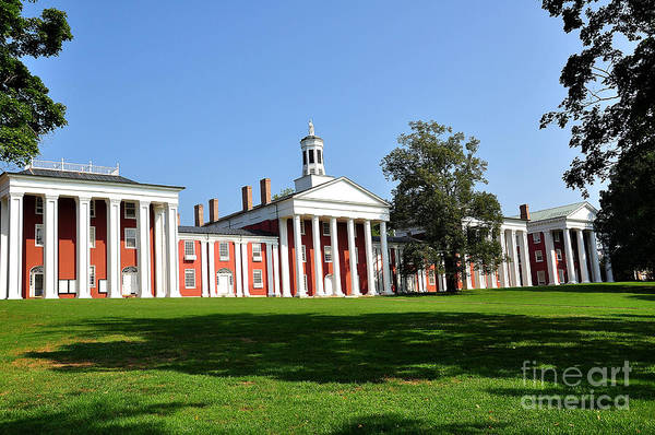 W&l Art Print featuring the photograph Washington And Lee by Todd Hostetter