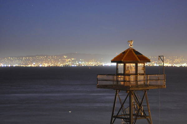 Alcatraz Art Print featuring the photograph Watch Tower Of The West by Greg McDonald