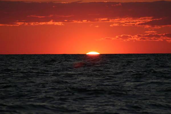 Sun Set Art Print featuring the photograph Water Sun Set by Kevin Dunham