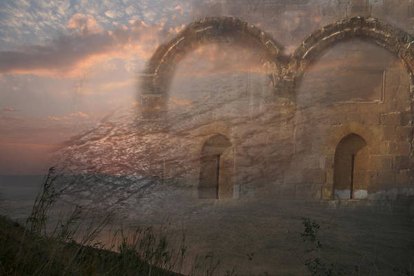 Sunset Art Print featuring the photograph Way Of Entry by M Kathleen Warren