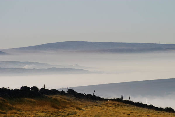Moors Art Print featuring the photograph West Yorkshire Moors 1 by Brian Middleton