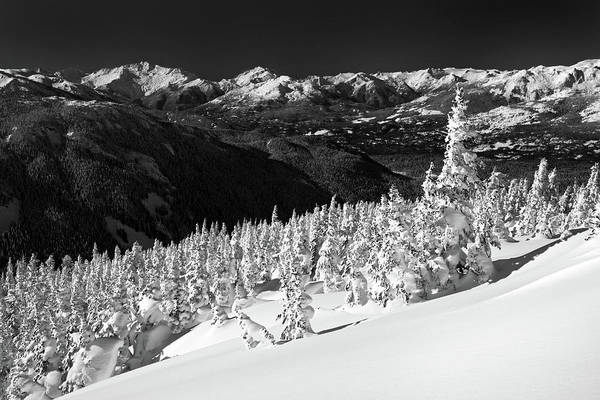 Whistler Art Print featuring the photograph Whistler Mountain Winter Scenery by Pierre Leclerc Photography