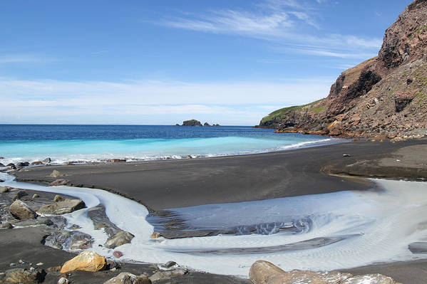 White Island Art Print featuring the photograph White Island In New Zealand by Jessica Rose