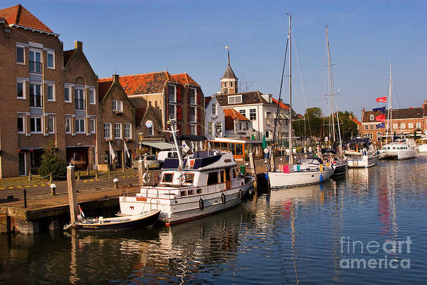 Travel Art Print featuring the photograph Willemstad by Louise Heusinkveld