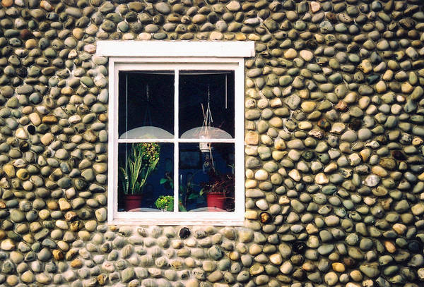 Architecture Art Print featuring the photograph Window In Nova Scotia by Robert Gladwin