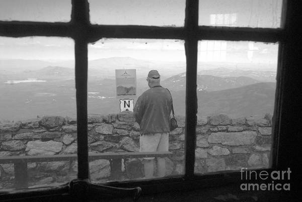 Windows Art Print featuring the photograph Window On White Mountain by David Lee Thompson