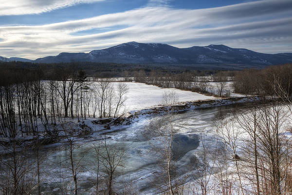 North Conway Print featuring the photograph Winter In North Conway by Eric Gendron