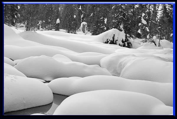 Hyak Art Print featuring the photograph Winterwonderland by BYETPhotography