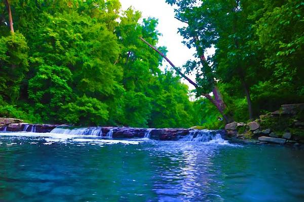 Philadelphia Art Print featuring the photograph Wissahickon Waterfall by Bill Cannon