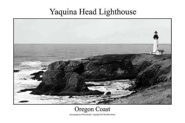 Oregon Coast Photographs Art Print featuring the photograph Yaquina Head Lighthouse by William Jones