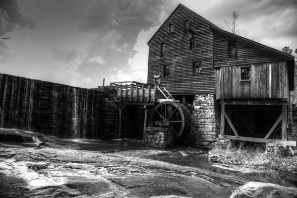 Landscape Art Print featuring the photograph Yates Mill by Christopher McPhail