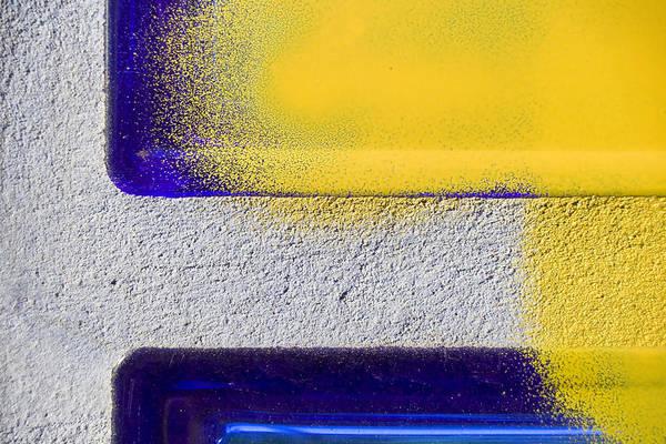 Graffiti Art Print featuring the photograph Yellow by Marc Huebner
