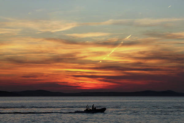 Croatia Art Print featuring the photograph Zadar Sunset by Deborah Brodie