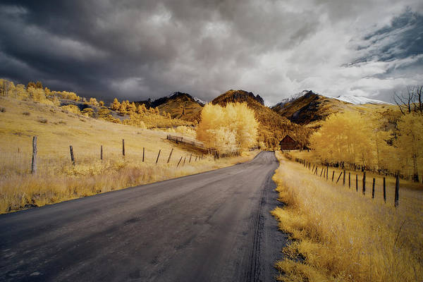 Colorado Art Print featuring the photograph Back Road In Colorado 1 by Jon Glaser