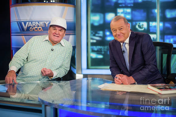 People Art Print featuring the photograph Baseball Legend Pete Rose Visits Stuart 1 by Steven Ferdman