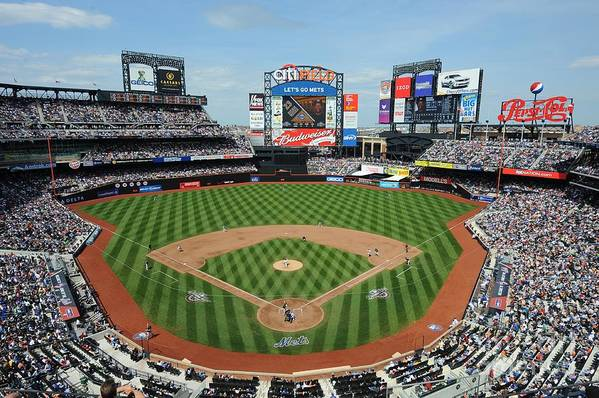 Citi Field Art Print featuring the photograph Milwaukee Brewers V New York Mets by Rich Pilling
