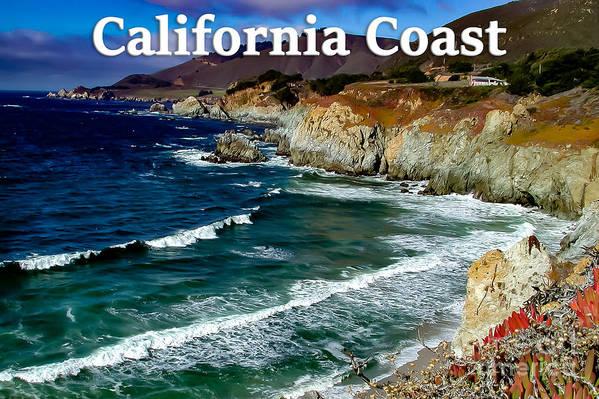 California Art Print featuring the photograph California Coast In Mendocino County by G Matthew Laughton