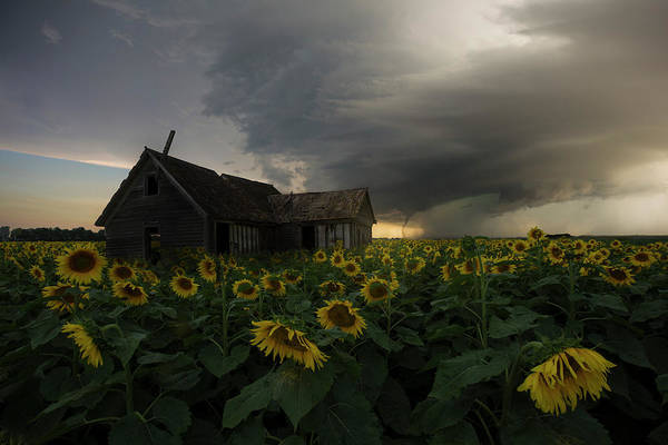 Tornado Art Print featuring the photograph How Can I Be Lost If I've Got Nowhere To Go by Aaron J Groen