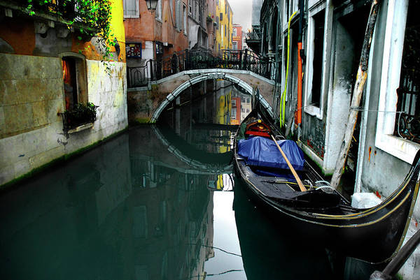Old Town Art Print featuring the photograph Italy, Venice by Photostock-israel