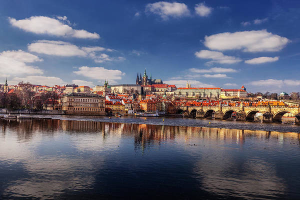 Prague Art Print featuring the photograph Reflections Of Prague by Andrew Soundarajan