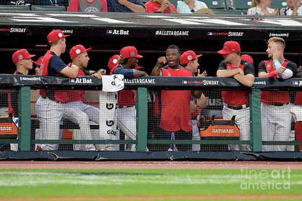 People Art Print featuring the photograph Siriusxm All-star Futures Game by Jason Miller