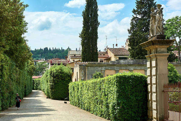 The paths of the Boboli Gardens
