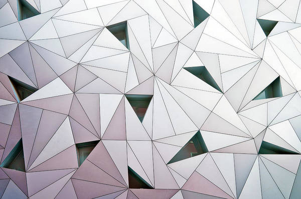 Madrid Art Print featuring the photograph Triangulation 1 by Linda Wride