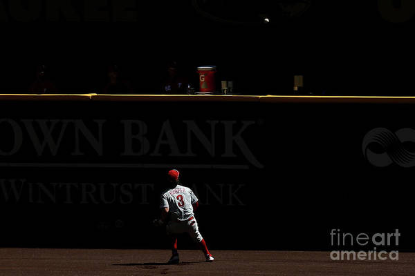People Art Print featuring the photograph Bryce Harper by Dylan Buell
