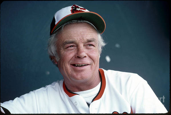 1980-1989 Art Print featuring the photograph Earl Weaver by Rich Pilling