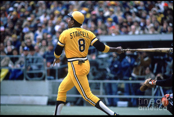 Sports Ball Art Print featuring the photograph Willie Stargell by Rich Pilling