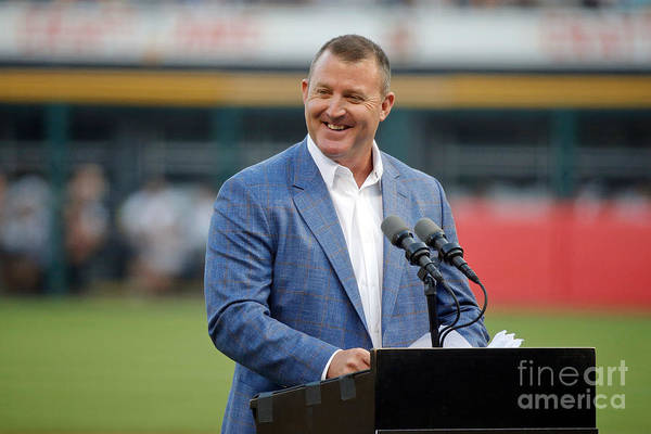 People Art Print featuring the photograph Jim Thome by Jon Durr