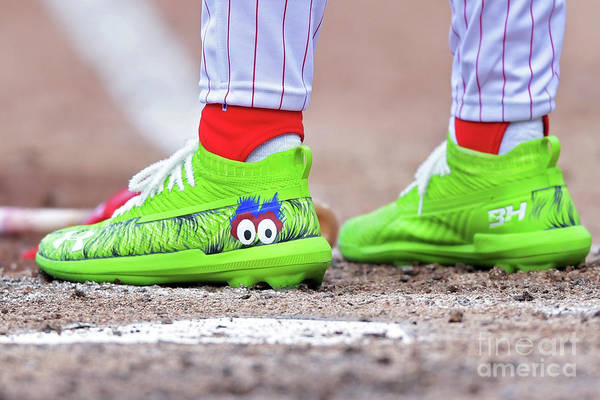 People Art Print featuring the photograph Bryce Harper by Drew Hallowell