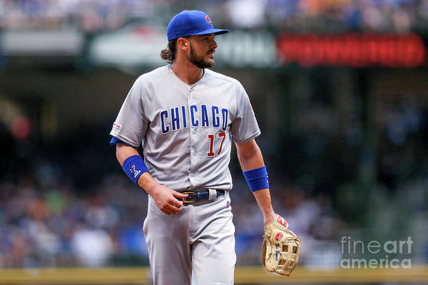 Three Quarter Length Art Print featuring the photograph Kris Bryant by Dylan Buell