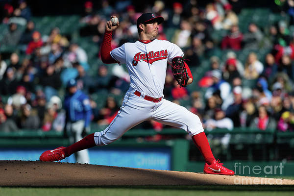 People Art Print featuring the photograph Trevor Bauer by Jason Miller