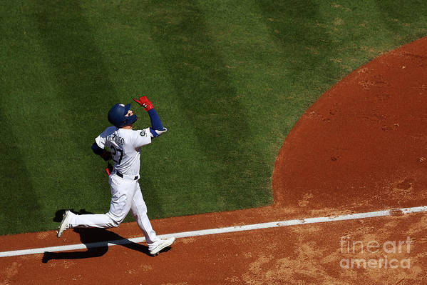People Art Print featuring the photograph Alex Verdugo And Chase Anderson by Yong Teck Lim