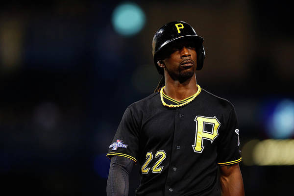 American League Baseball Art Print featuring the photograph Andrew Mccutchen by Justin K. Aller