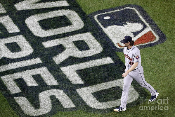 American League Baseball Art Print featuring the photograph Gerrit Cole by Will Newton