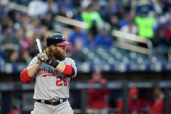 American League Baseball Art Print featuring the photograph Jayson Werth by Taylor Baucom