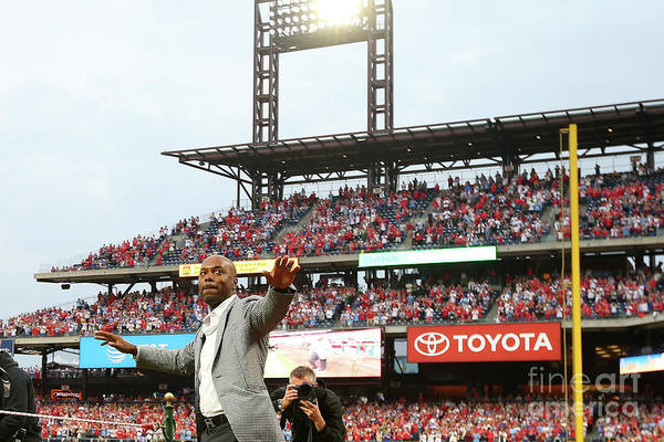 People Art Print featuring the photograph Jimmy Rollins by Rich Schultz