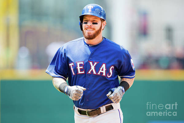 People Art Print featuring the photograph Josh Hamilton by Jason Miller