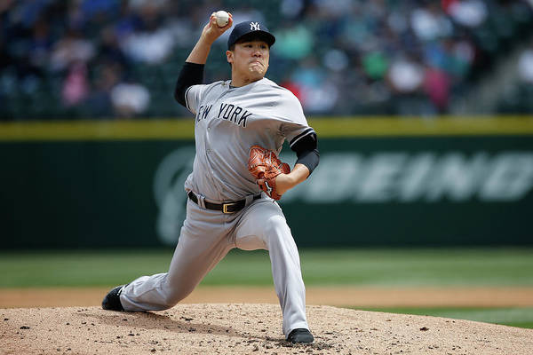 Second Inning Art Print featuring the photograph Masahiro Tanaka by Otto Greule Jr