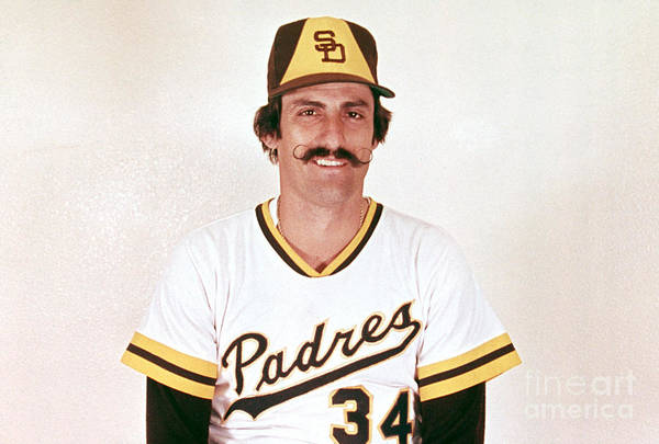 Rollie Fingers Art Print featuring the photograph Rollie Fingers by Mlb Photos