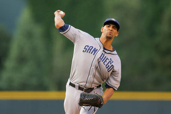 Home Base Art Print featuring the photograph Tyson Ross by Justin Edmonds