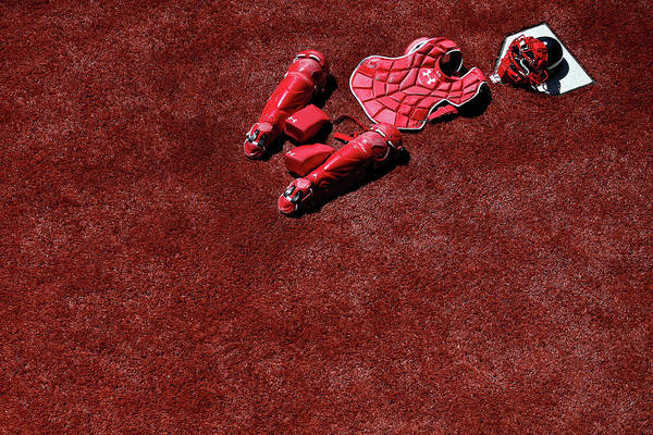 Catching Art Print featuring the photograph Wilson Ramos by Patrick Smith