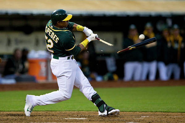 Yoenis Cespedes Art Print featuring the photograph Yoenis Cespedes by Jason O. Watson
