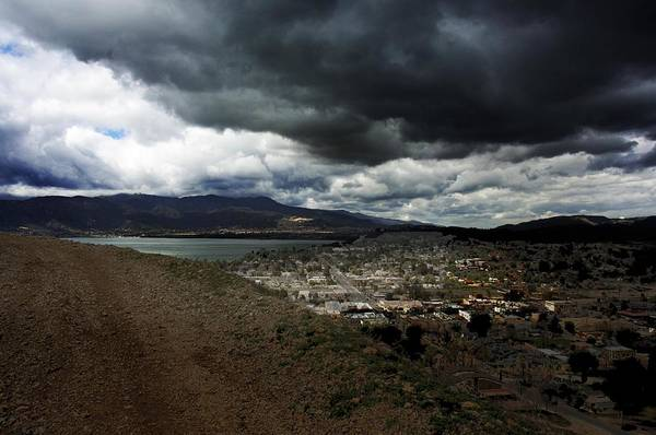 Landscape Art Print featuring the photograph Lake Elsinore Waiting by Richard Gordon